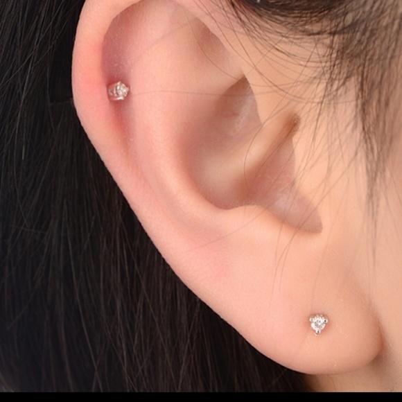 4db7830d1 Alquimia Jewelry | New 3 For 35 Dots 3mm Diamond Stud Earrings ...